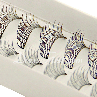 Manual Looking Curved Lashes 112# - 10 Pairs Per Box  (046026692)