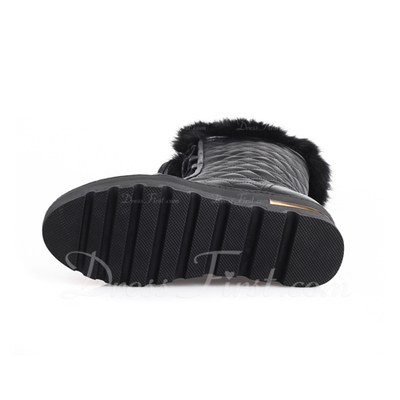 Real Leather Low Heel Ankle Boots With Lace-up shoes (088057352)