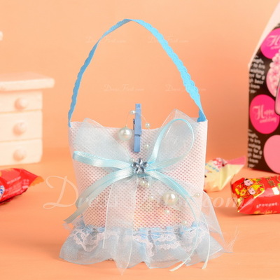 Classic Handbag shaped Favor Bags With Ribbons (Set of 12) (050054592)