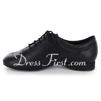 Women's Real Leather Heels Latin Modern Ballroom Dance Shoes (053022404)