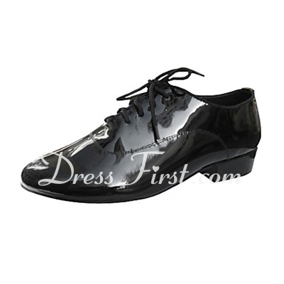 Men's Real Leather Heels Ballroom Dance Shoes (053013224)