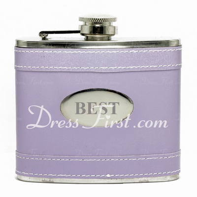 Personalized Simple Stainless Steel Flask (118030673)