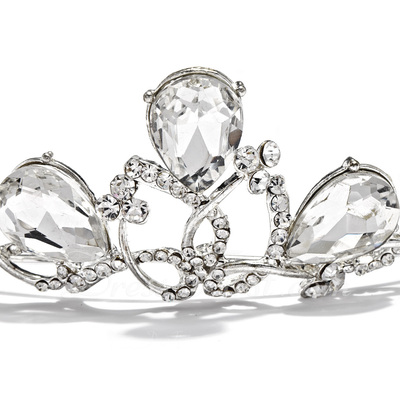 Fashion Crystal/Alloy Tiaras (042019222)