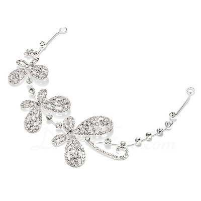Simple Butterfly Rhinestone/Alloy Headbands (042026832)