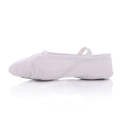 Kids' Canvas Flats Ballet Belly Dance Shoes (053048832)