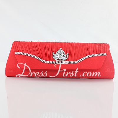Elegant Silk Clutches (012033136)