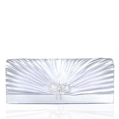 Gorgeous Satin/Silk Clutches (012008669)