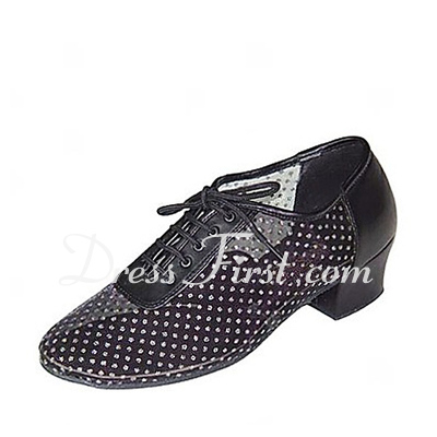 Women's Leatherette Heels Ballroom Practice Dance Shoes (053018609)