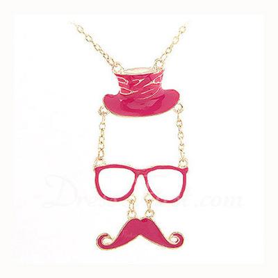 Stylish Alloy Women's Fashion Necklace (137044771)