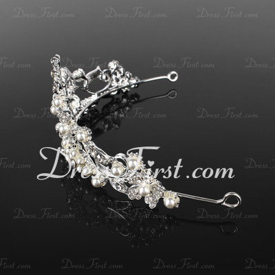 Simple Butterfly Alloy Tiaras (042019214)
