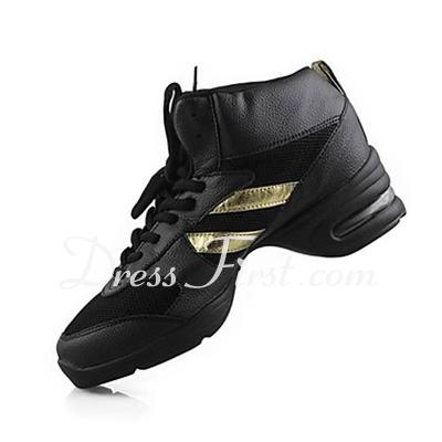 Dla kobiet Skóra rzeczywistym Tenisówki Ćwiczenia Buty do Tańca (053013221)
