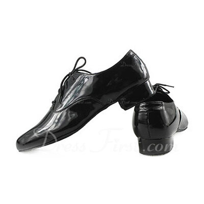 Men's Leatherette Modern Ballroom Dance Shoes (053012982)