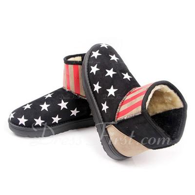 Süet Düz Topuk Ayak bileği Boots Kar Boots ayakkabı (088057588)