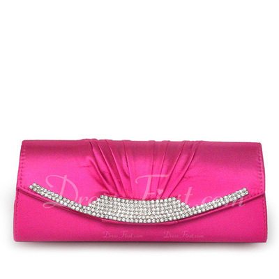 Gorgeous Satin Clutches (012011033)