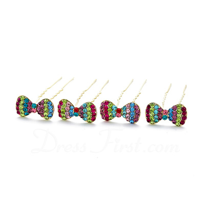 Lovely Alloy Hairpins (Set of 4) (042019417)