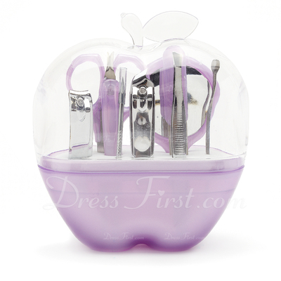 Lovely Apple Shaped Box Stainless Steel Manicure Kit (051015760)