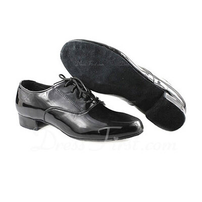 Men's Leatherette Latin Modern Ballroom Practice Dance Shoes (053012982)