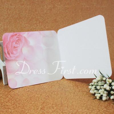 Blumen-Stil Side Fold Grußkarten (Satz 10) (114031171)