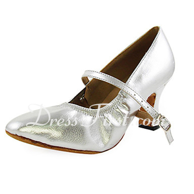 Women's Leatherette Heels Pumps Ballroom Dance Shoes (053013304)