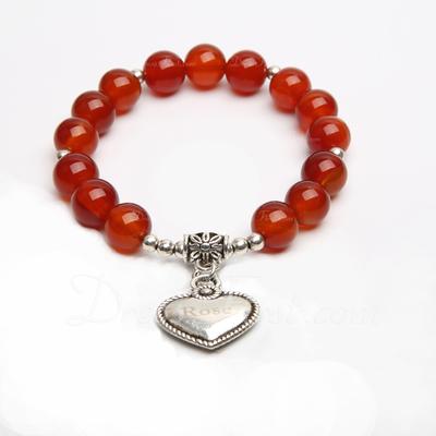 Personalized Faux Agate Ladies' Bracelets (011054917)