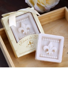Fleur-de-lis Scented Soap Wedding Favor (Set of 5) (051020222)