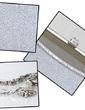 Gorgeous Sparkling Glitter/Abrasive Cloth With Rhinestone Wristlets (012028153)
