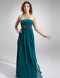 Empire Strapless Floor-Length Chiffon Prom Dress With Ruffle Beading (018021093)