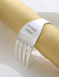Personalized Fork Design Zinc Alloy Napkin Rings (118030922)