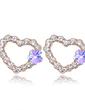 Elegant Alloy With Rhinestone Women's Earrings (011037002)