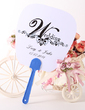 Personalized Simple Design Plastic Hand Fans (118029534)