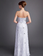 A-Line/Princess Sweetheart Floor-Length Lace Mother of the Bride Dress With Beading Split Front (008006550)