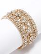 Bangles & Cuffs Alloy With Rhinestone Ladies' Bracelets (011033348)