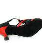 Kadın Satin Topuk Sandalet Latin Ile T-Askı Dans Ayakkabıları (053013361)