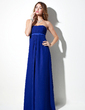 Empire Sweetheart Floor-Length Chiffon Bridesmaid Dress With Ruffle (007001895)