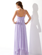 A-Line/Princess Sweetheart Floor-Length Chiffon Prom Dress With Ruffle Beading (018004835)