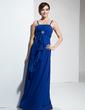Imperialna Do Podłogi Chiffon Suknia dla Druhny (007001118)