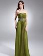 A-Line/Princess Sweetheart Floor-Length Chiffon Prom Dress With Ruffle Beading (008015647)