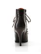 Women's Leatherette Stiletto Heel Pumps Ankle Boots shoes (088057402)