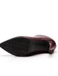 Kadın Suni deri İnce Topuk Pompalar Ayak bileği Boots Ile Fermuar ayakkabı (088057400)