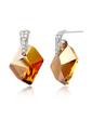Shining Alloy With Crystal Women's Earrings (011037098)