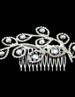 Gorgeous Crystal/Alloy Hair Combs (042012936)