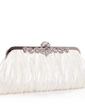 Gorgeous Silk Clutches (012005434)