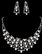 High Quality Alloy/Pearl With Rhinestone Ladies' Jewelry Sets (011017849)