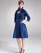 3/4-Length Sleeve Taffeta Special Occasion Wrap (013012449)