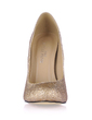 Sparkling Glitter Stiletto Heel Pumps Closed Toe shoes (085017508)