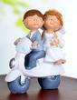 Vehicle Resin Wedding Cake Topper (119037334)