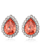 Elegant Alloy With Crystal Women's Earrings (011037012)