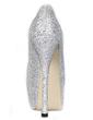 Satin Stiletto Heel Sandals Platform Peep Toe With Rhinestone shoes (085026597)