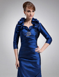 3/4-Length Sleeve Taffeta Special Occasion Wrap (013012483)