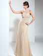 A-Line/Princess Sweetheart Floor-Length Chiffon Mother of the Bride Dress With Ruffle Appliques Lace (008017404)